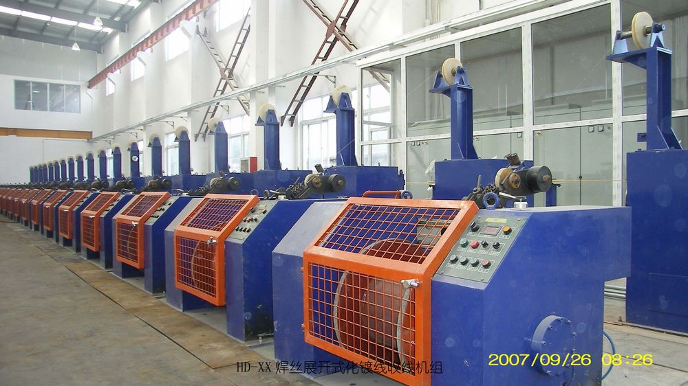 Equipment for steel wire products